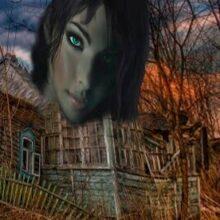 Таинственный голос в заброшенной деревне.