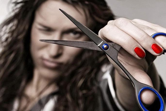 Быстрая заточка и правка ножниц дома