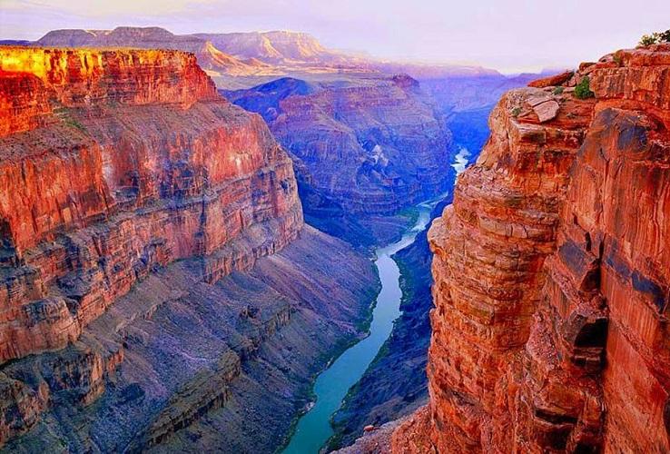 Большой каньон Колорадо в США