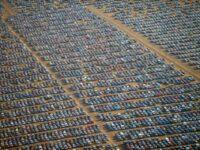 Непроданные, лишние автомобили. Кладбище новых автомобилей