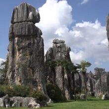 Каменный лес Куньмина. Китай