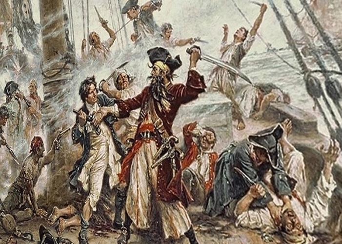 Пираты, корсары, флибустьеры