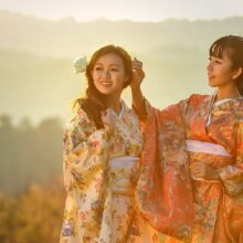 Отношения между женщиной и мужчиной в Японии