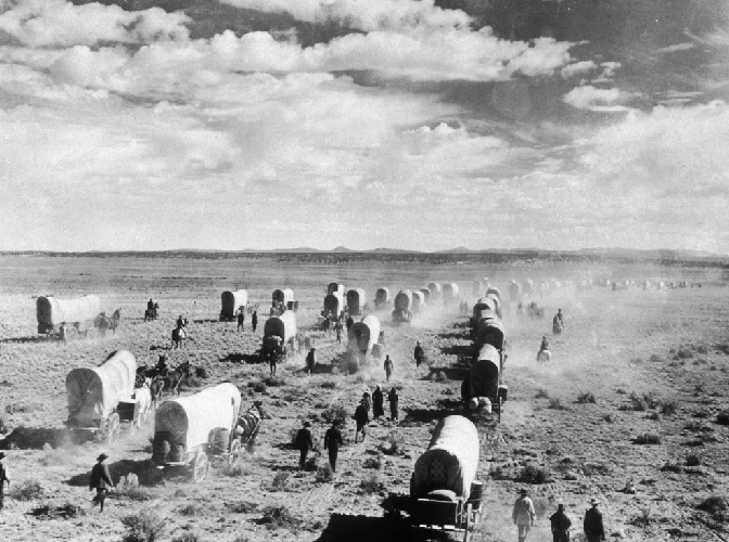 Заселение Дикого Запада или Американский Старый Запад
