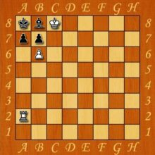 Шахматы — мат в два хода Морфи