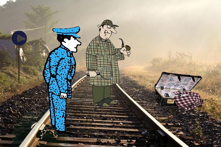 Загадка смерть на железнодорожных путях