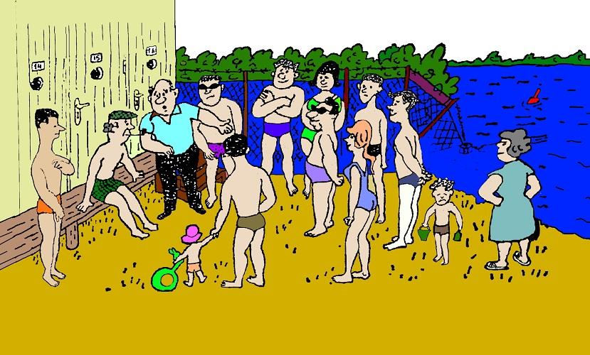 Загадка хищение на пляже