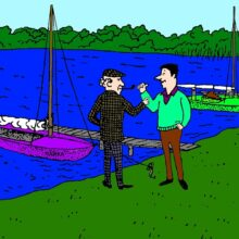 Загадка у озера