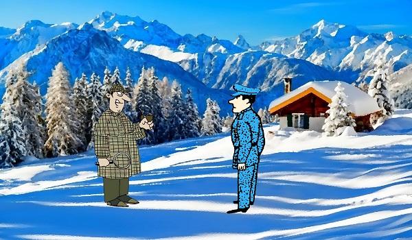 Загадка убийство лыжника