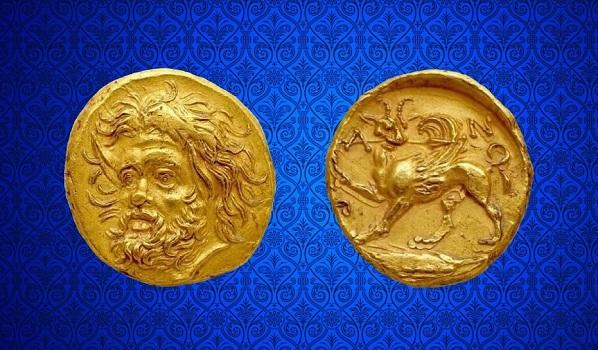 Золотой статер Пантикапей
