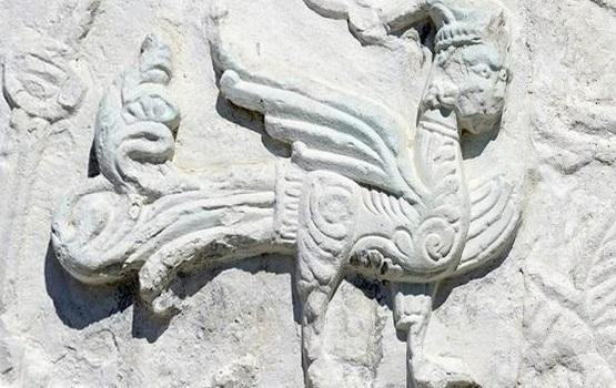 барельев храма Покрова на Нерли Боголюбове