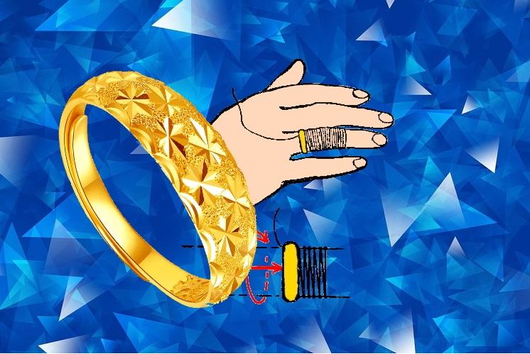 Как снять кольцо с отекшего пальца
