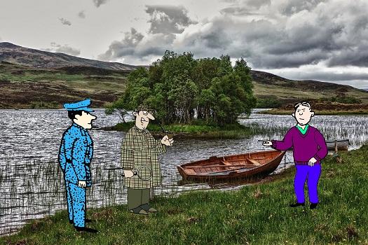 Загадка преступление на озере