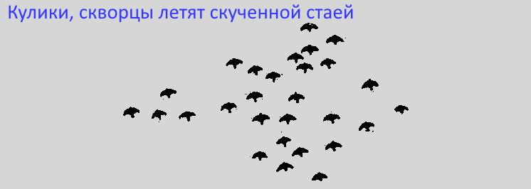 Как птицы улетают
