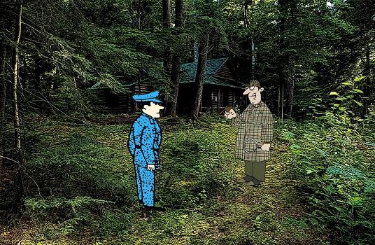 Загадка в лесной избушке