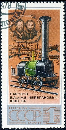 Первый русский паровоз Черепановых