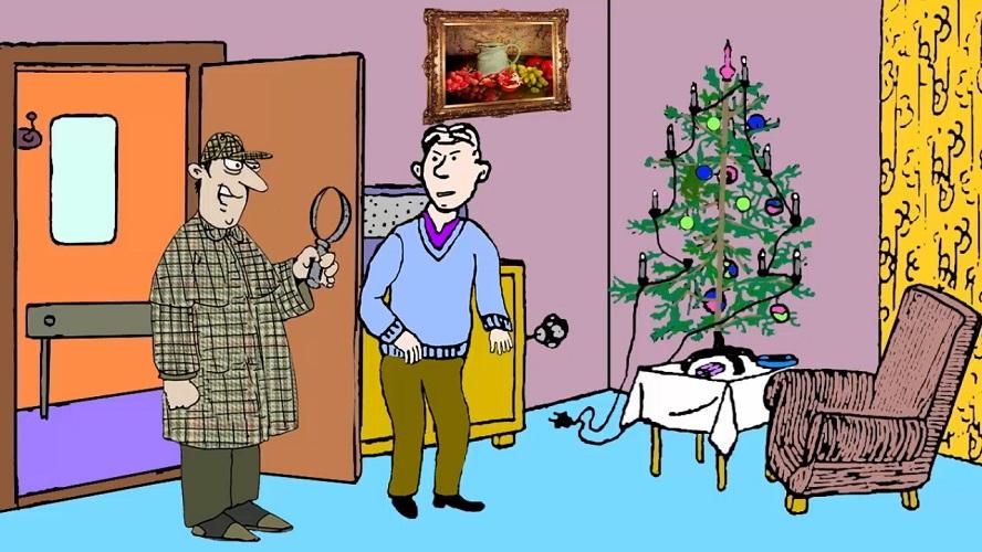 Загадка Новогодняя елка
