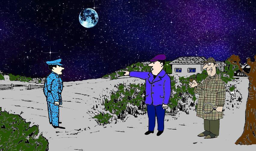 Загадка лунная ночь