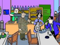 Загадка клиент ресторана