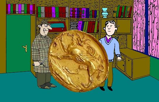 Загадка похищенная монета