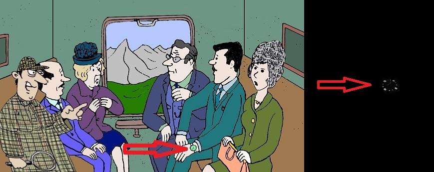 Загадка похищенная брошь в купе вагона