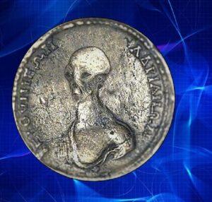 Сигнал Человечеству на монете 17 века