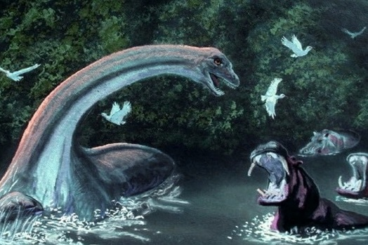 Поиск динозавров в африканском Конго