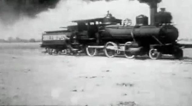 Шоу с паровозами XIX века в Техасе