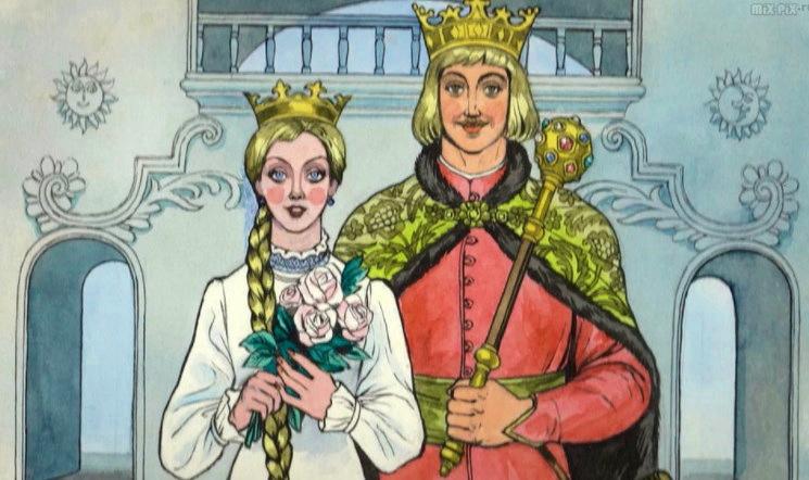 Сказка Иван-ёжик и принцесса
