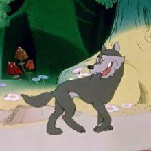 Сказка про голодного волка