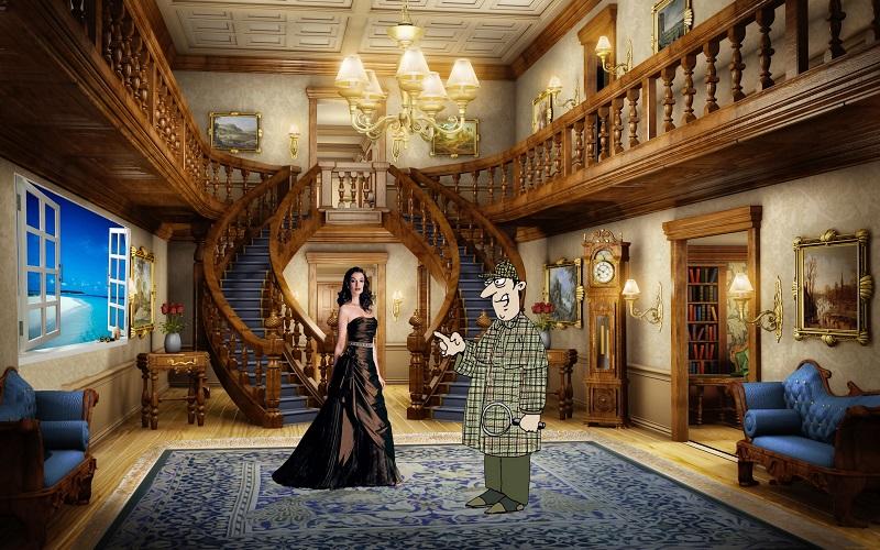 Загадка инспектор и вдова писателя