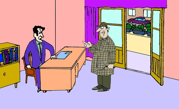Загадка анонимка и инспектор Гудвин