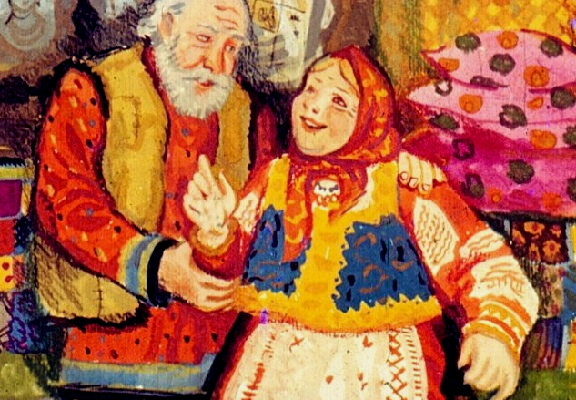 Хитрый и еще хитрее сказка XIX века