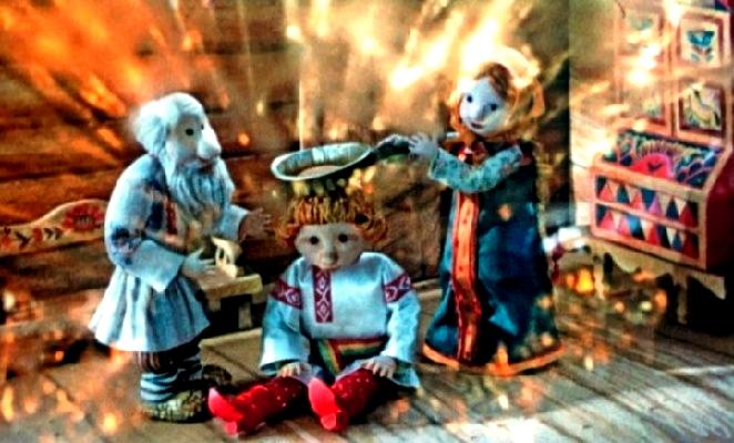 Сказка о трех зятьях