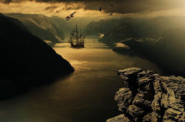 Корабль призрак «Марлборо» и его тайна
