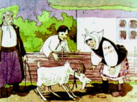 Сказка о козочке и колокольчике