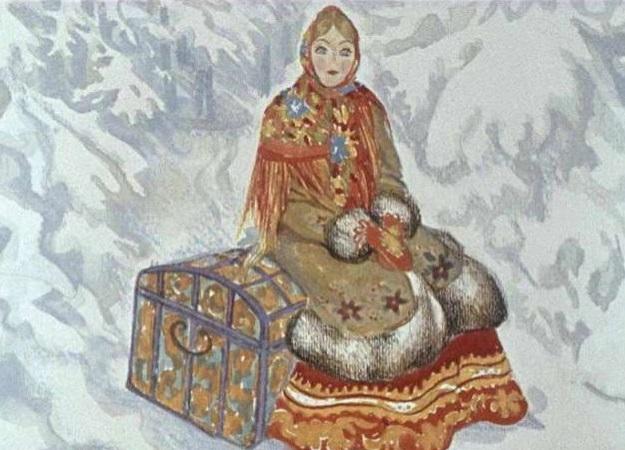 Сказка добрая свекровь и мороз