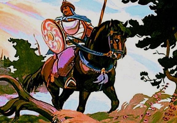 Сказка король Батауш и чудовище
