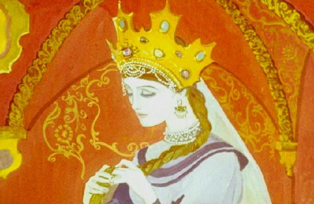 Сказка царевна с жемчужинами