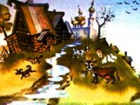 Сказка хитрый Нурум и леший