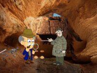 Загадка таинственная пещера