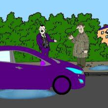 Загадка происшествие в машине