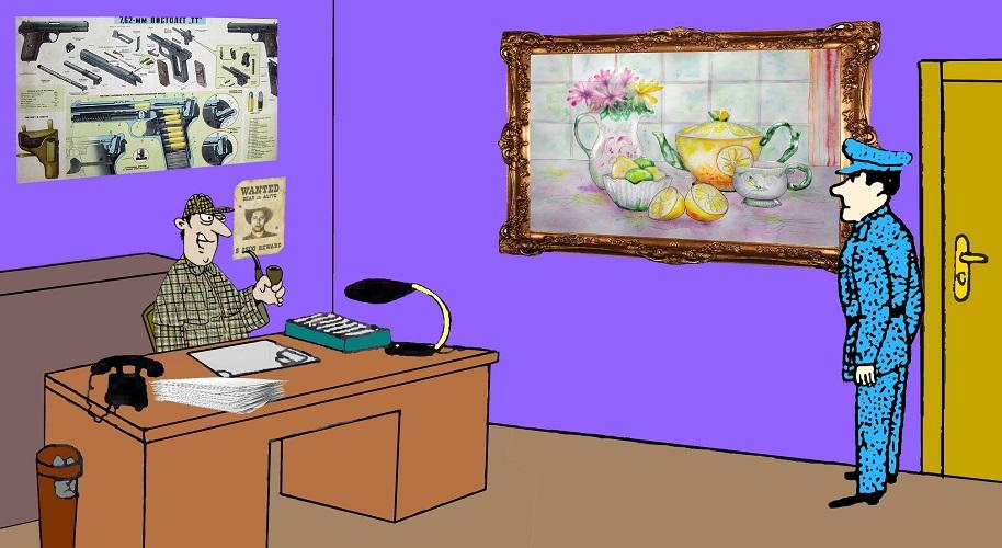 Загадка любовь к искусству