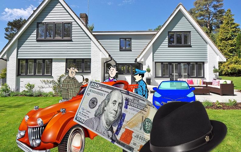 Загадка миллион долларов и автомобиль