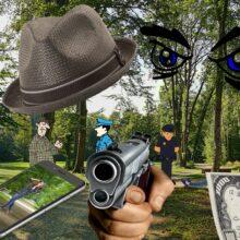 Загадка происшествие в парке